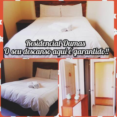 Residencial Dumas,aqui o seu descanso é garantido!