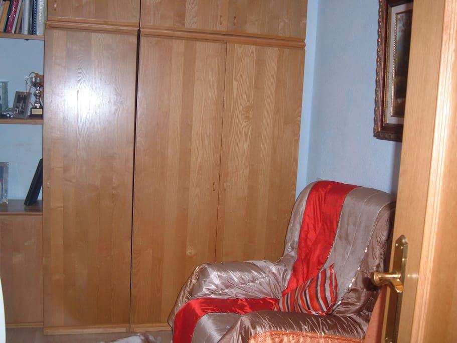 Es el armario de la habitacion que se alquila