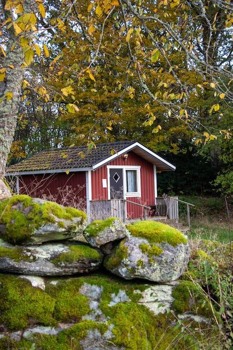 Kemping cottage on farm