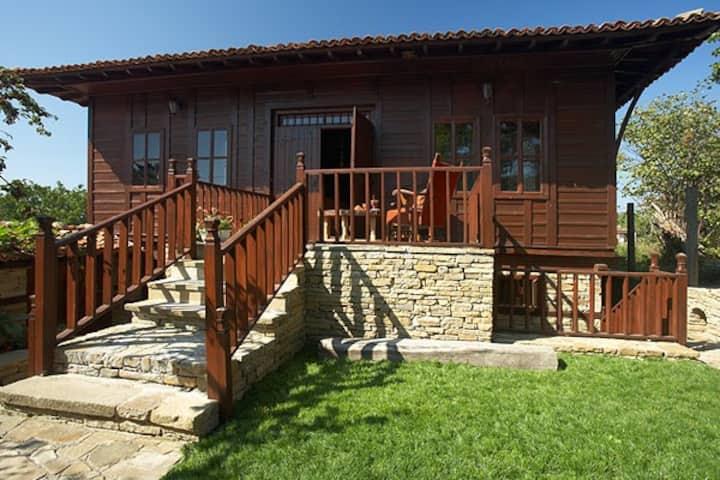 Unique Bulgarian Revival House