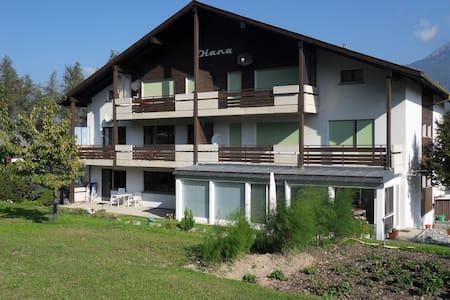 COSY APARTMENT EISCHOLL SWISS ALPS - Eischoll - Lägenhet