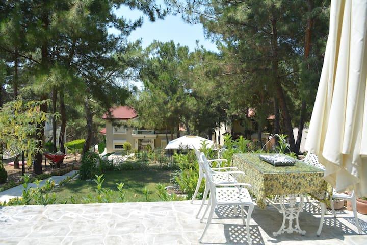 Orman içinde Urla'da bir villa - Urla - Huis