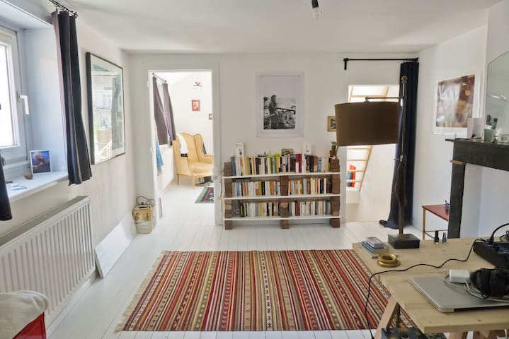 Emilie's cute and cosy townhouse - La Hulpe - Huis