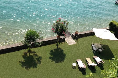 VILLA WITH GARDEN AND PRIVATE ACCESS TO LAKE - Gargnano