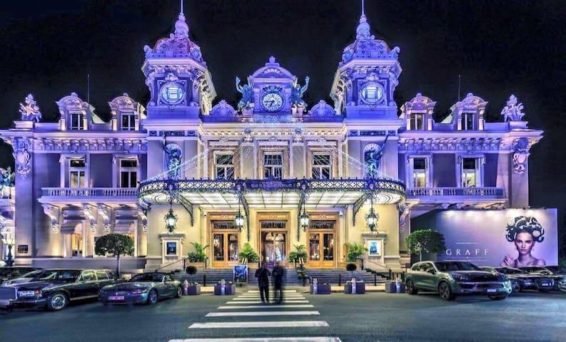 Monaco border - 3 min Casino Monte-carlo