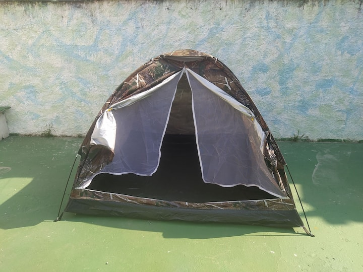 Camping na melhor localização de Bertioga