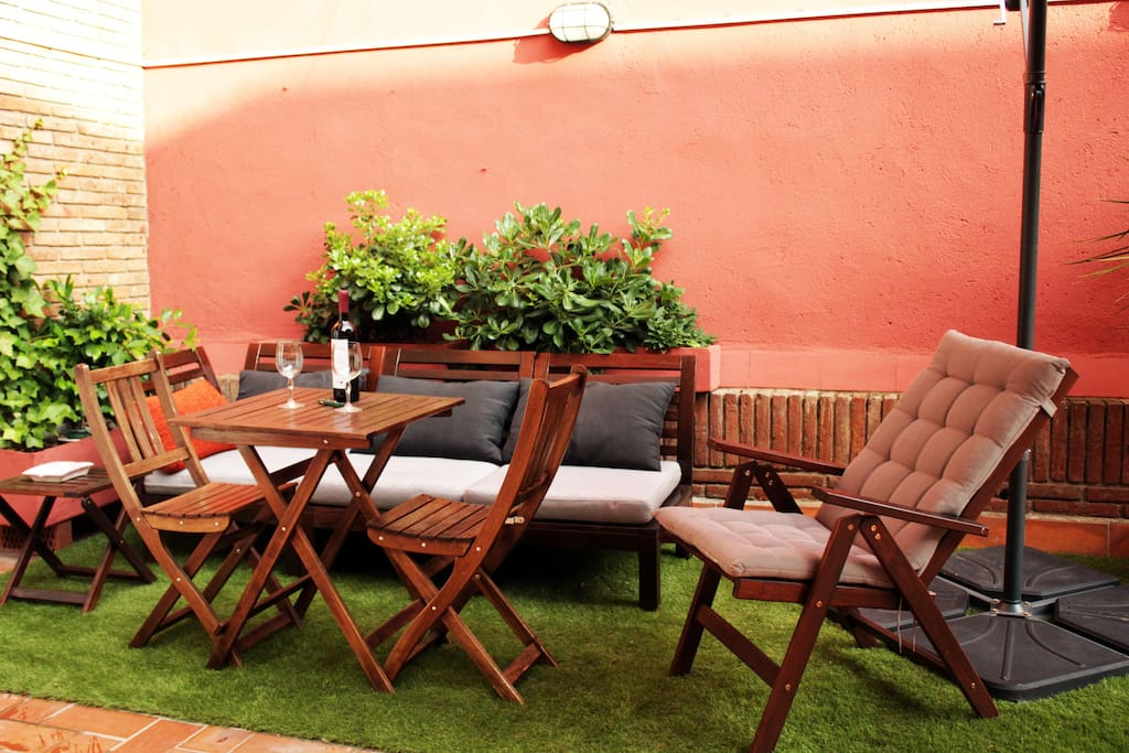 You'll also have access to a beautiful terrace where you'll be able to relax and enjoy the sunnier days