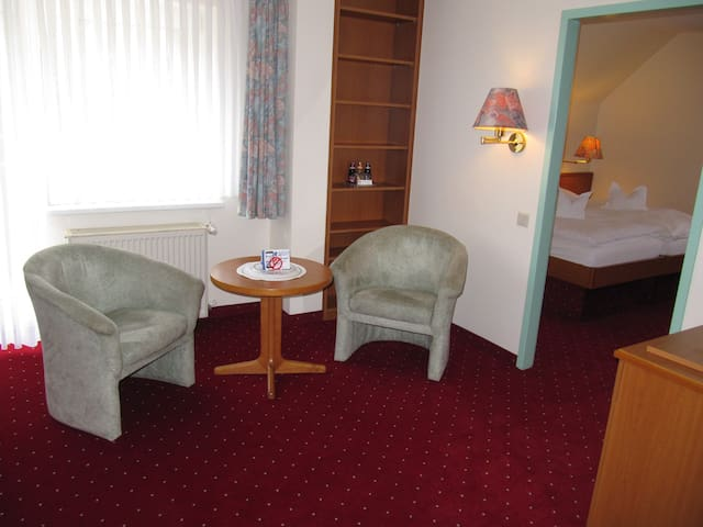 Suite in der Hotel Pension Marie-Luise
