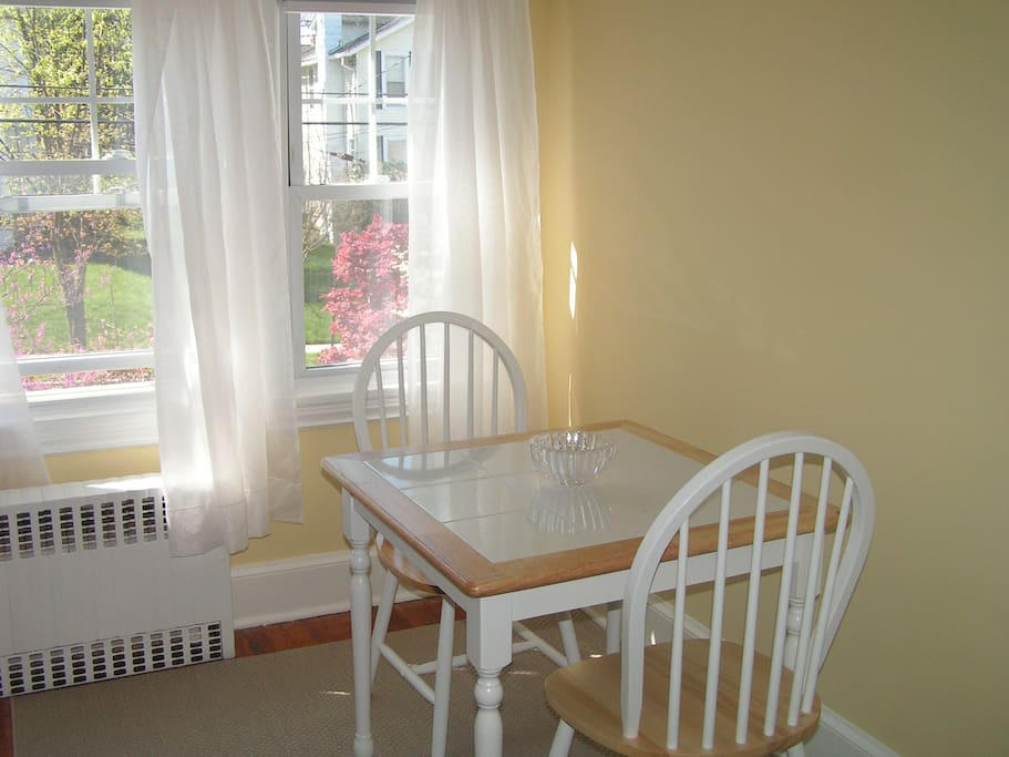 Small dinette.