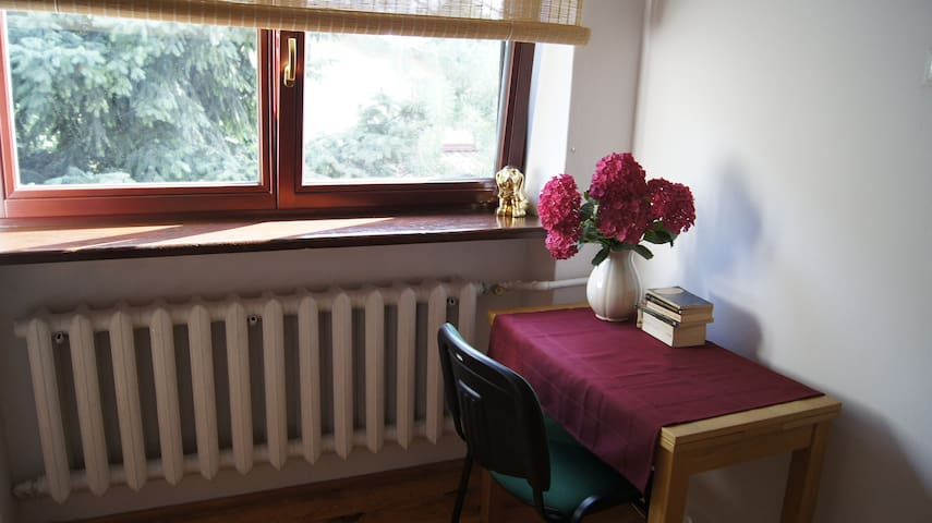 Room in the house with garden - Warszawa - Casa