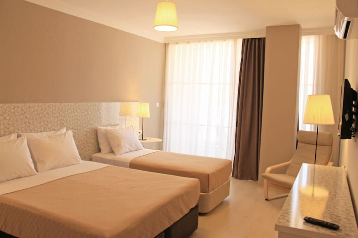 Deluxe triple rooms 37  m² - Muğla - Inap sarapan