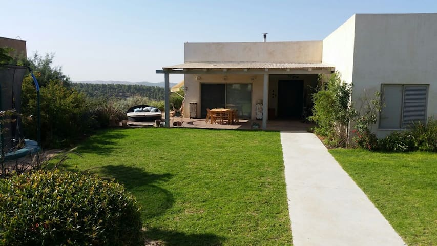 Private Villa in Sansana, northen Negev, Israel