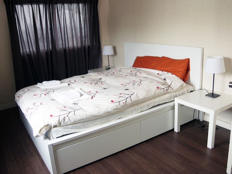 Double bed - Room 01