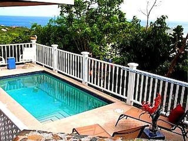 Pool 3 Bed/3Bath, A/C, Wi-Fi, Close to Cruz Bay