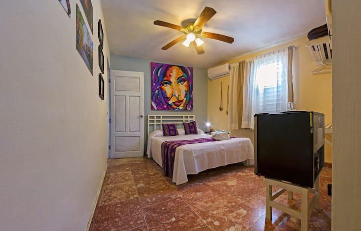 Gorgeous private room-ARG/2 PAX+AA+TV/LEYMAR House