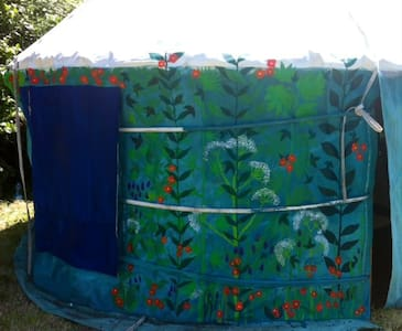 sweet yurt for two, 20 mins Dinan. 30 min St Malo - Saint-Maden