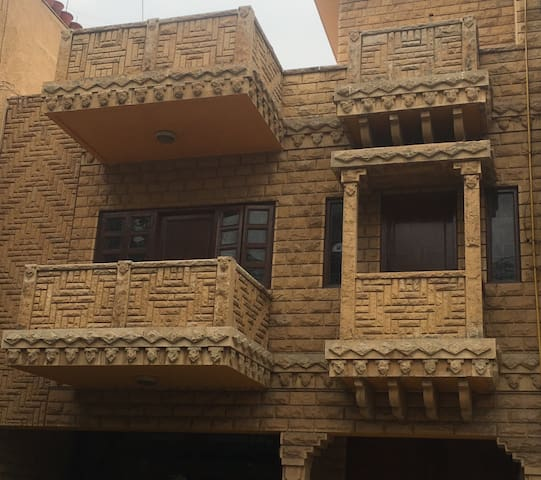 The Stone House | South Delhi | 4 Beds | CCTV