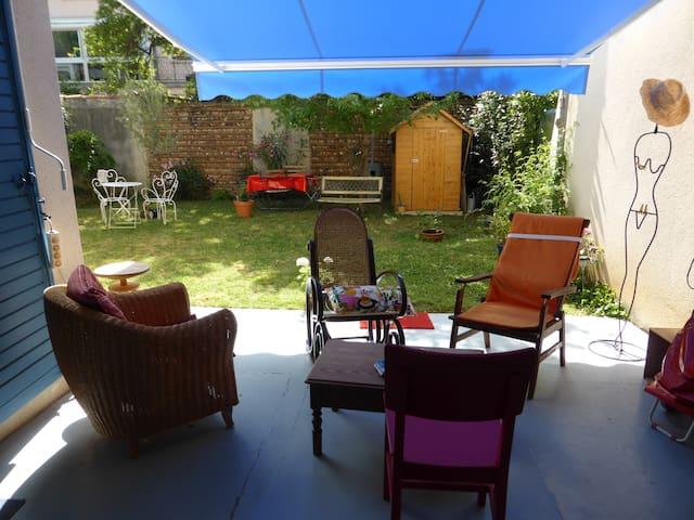 Petit coin de paradis rive gauche - Toulouse - Wohnung