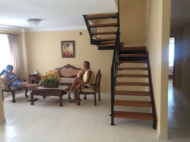 Nice Room in Rooftopapartment - Santo Domingo - Apartment