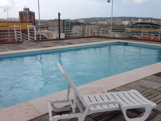 Sunny Apt W/ Swimming-pool