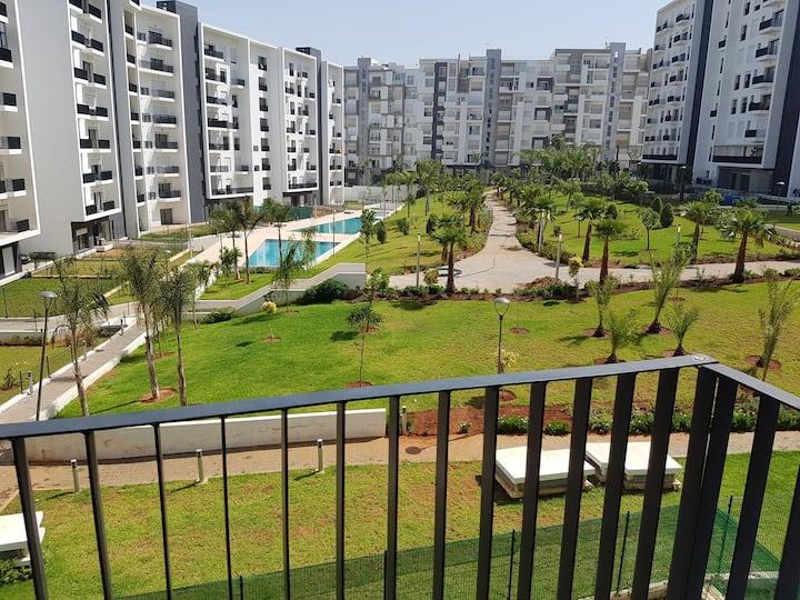 High Standing Appart,Hay Ryad, Rabat (Prestigia)❤️