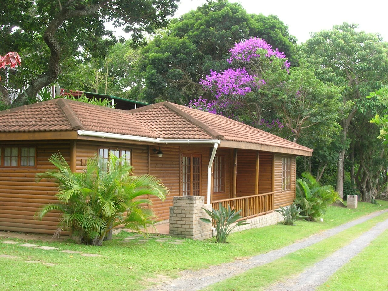 Luxury log cabins fully equipped and serviced