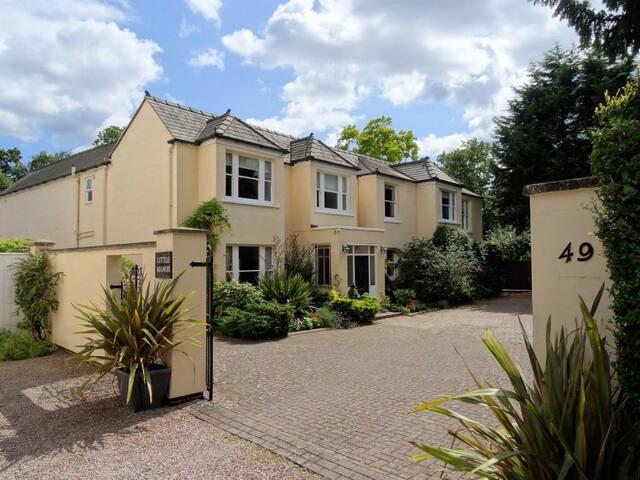 Twin en-suite Room - Little Manor - Cheltenham - Bed & Breakfast