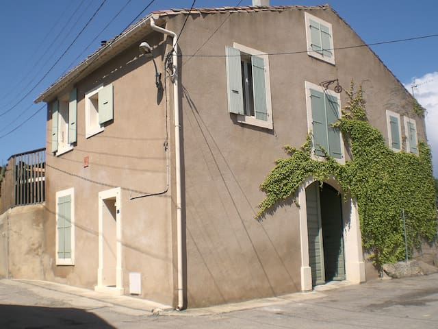 Gîte rural rue Gardiole - Ouveillan - House