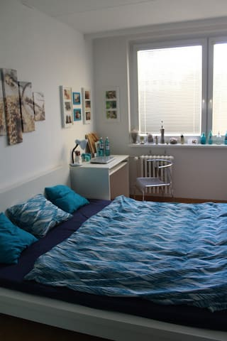 cool, cheap flat in Prague
