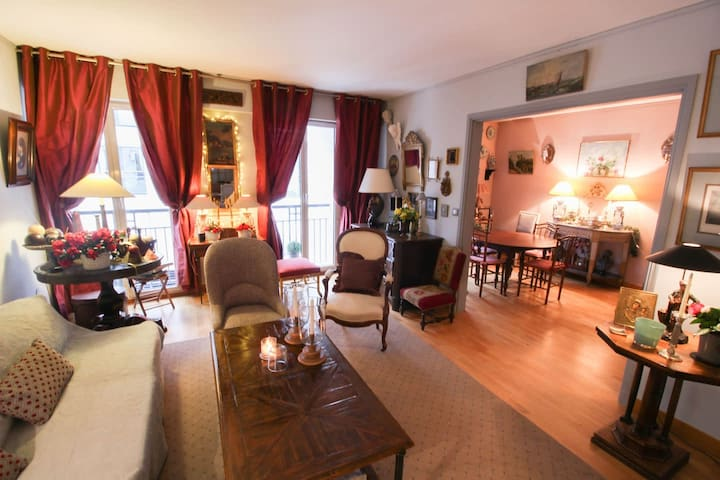 SUPERB CHARMING APT - CLOSE TO PARC DES PRINCES
