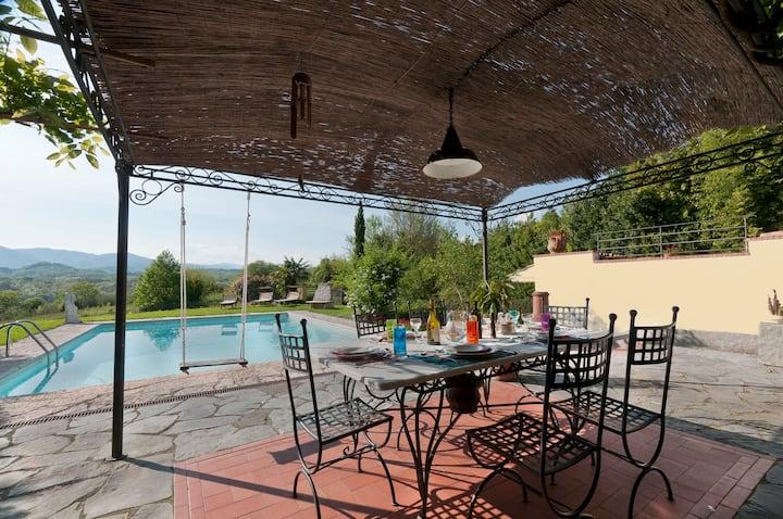 Total relax in villa Olimpias