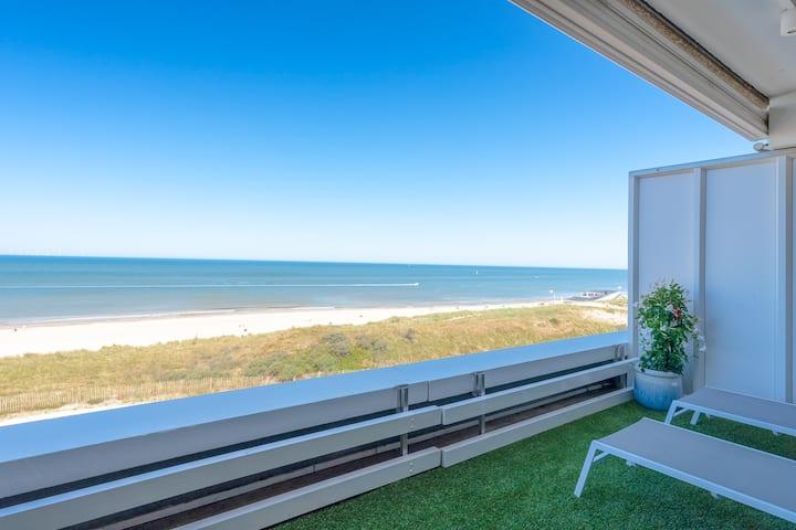 Luxusapartment mit direktem Meer- und Strandblick
