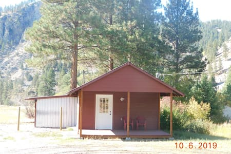 Cabin on the North Fork of the Salmon River