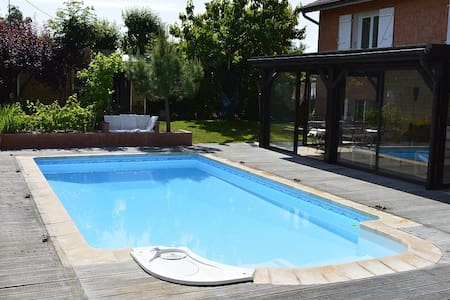 Bed&Breakfast in the country near Lyon and Vienne - Huis
