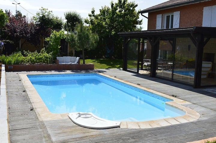 Bed&Breakfast near Lyon and Vienne