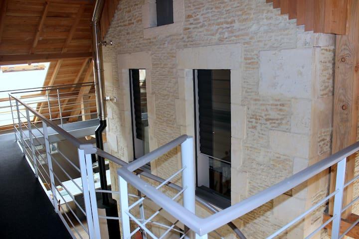 2 chambres d'hôtes en Normandie - Touffréville - Dům