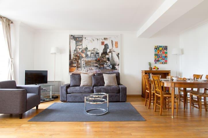2BR IN ST GERMAIN DES PRES - VIEW OF ODEON - 41 - Paris - Apartment