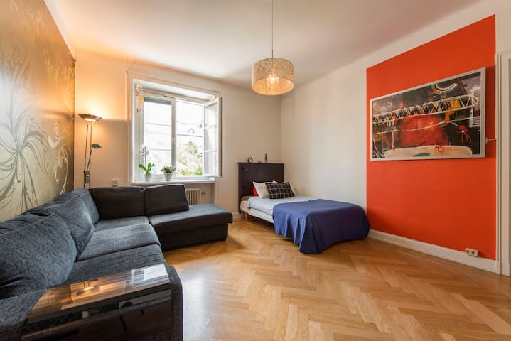 charming apt in leafy neighb hood - Stockholm