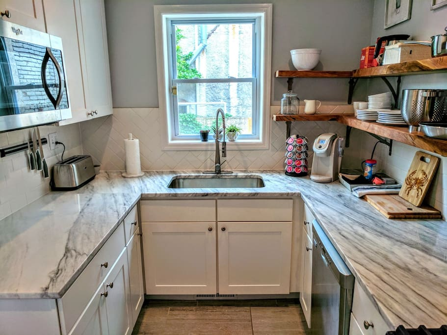 Newly remodeled kitchen, fully equipped with cooking essentials. Photo 1 of 4