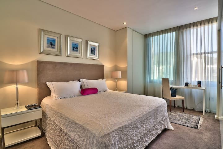 Luxurious bedroom with King size bed
