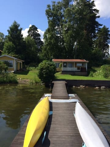 Island cottage close to city center - Lidingö - Cabin