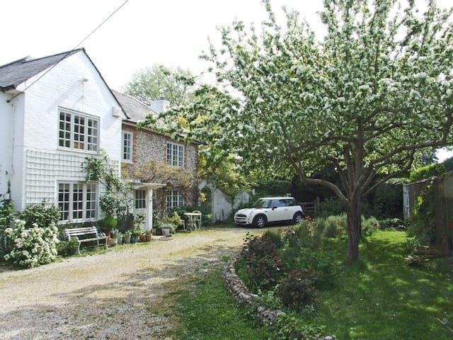 Romantic, wisteria clad cottage - Chichester - Huis