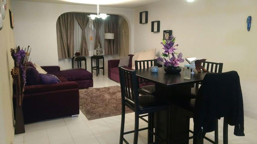 Bonito cuarto en lindo apartamento - Ciudad de México