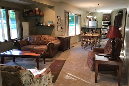 Light Spacious 2BD/1BA Private Destination Getaway