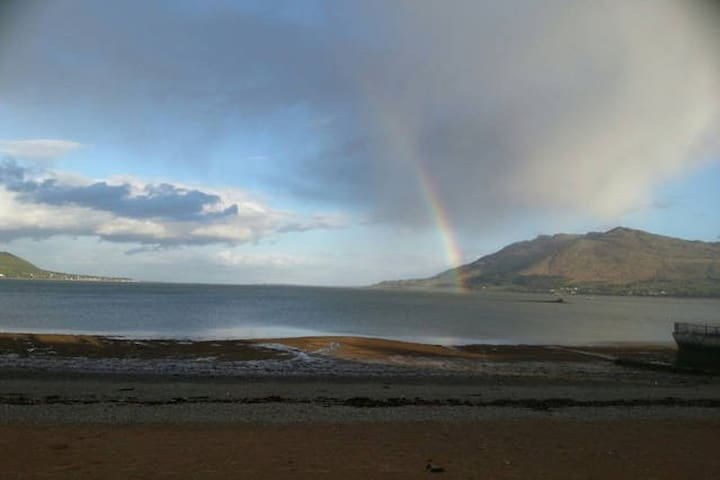 On the Beach, Victorian town house - Warrenpoint - Apartemen
