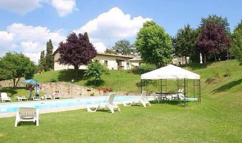 Badia Benedettina del 1200 - Città di Castello - Lägenhet