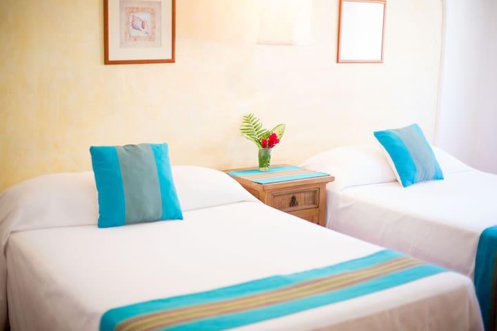 Villas Sayulita -  Dos camas matrimoniales 1