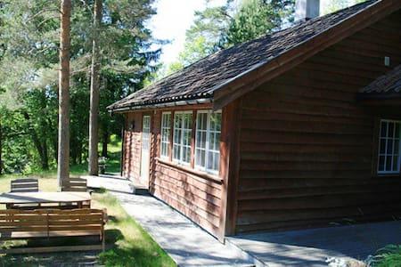 Flott hytte på islandshestgård - Risor - Cabaña