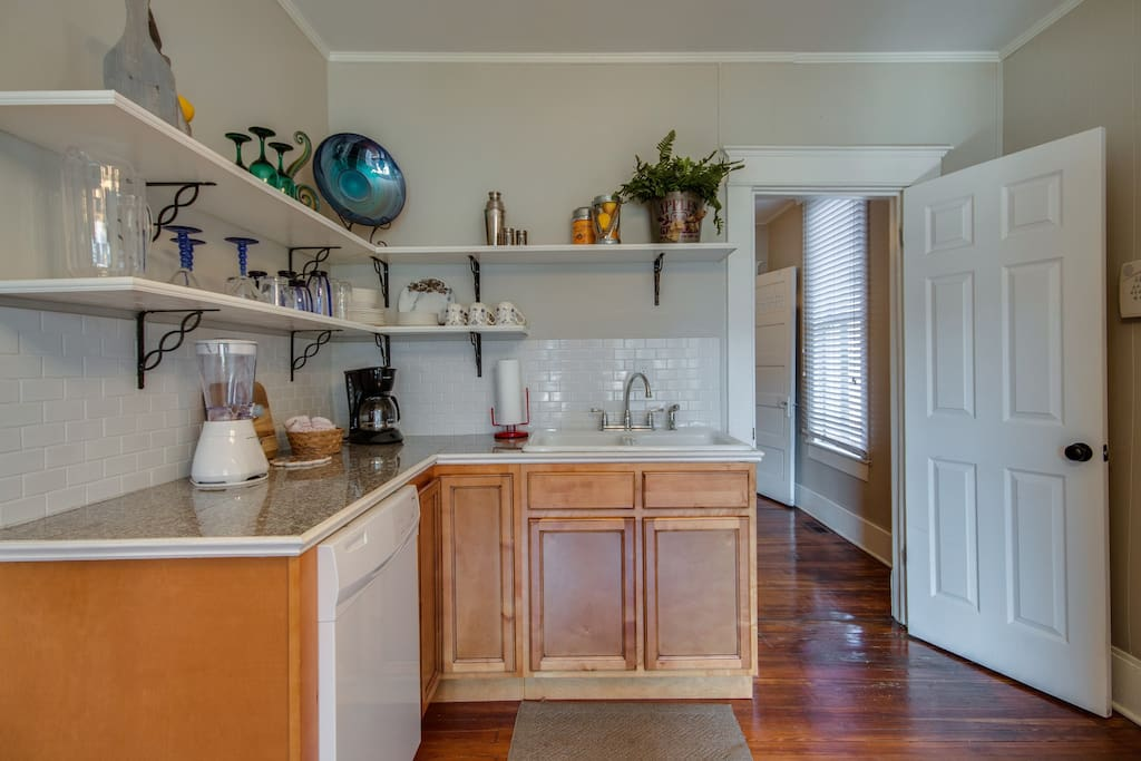 You'll love cooking in this brand new kitchen.