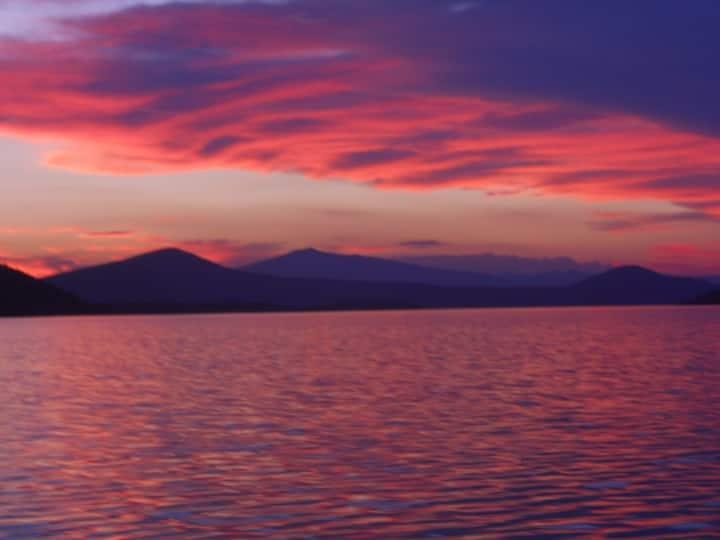 Overlooking Water - On Lake